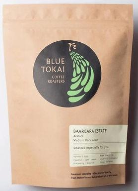 Blue Tokai Coffee - pour over Baarbara 250g