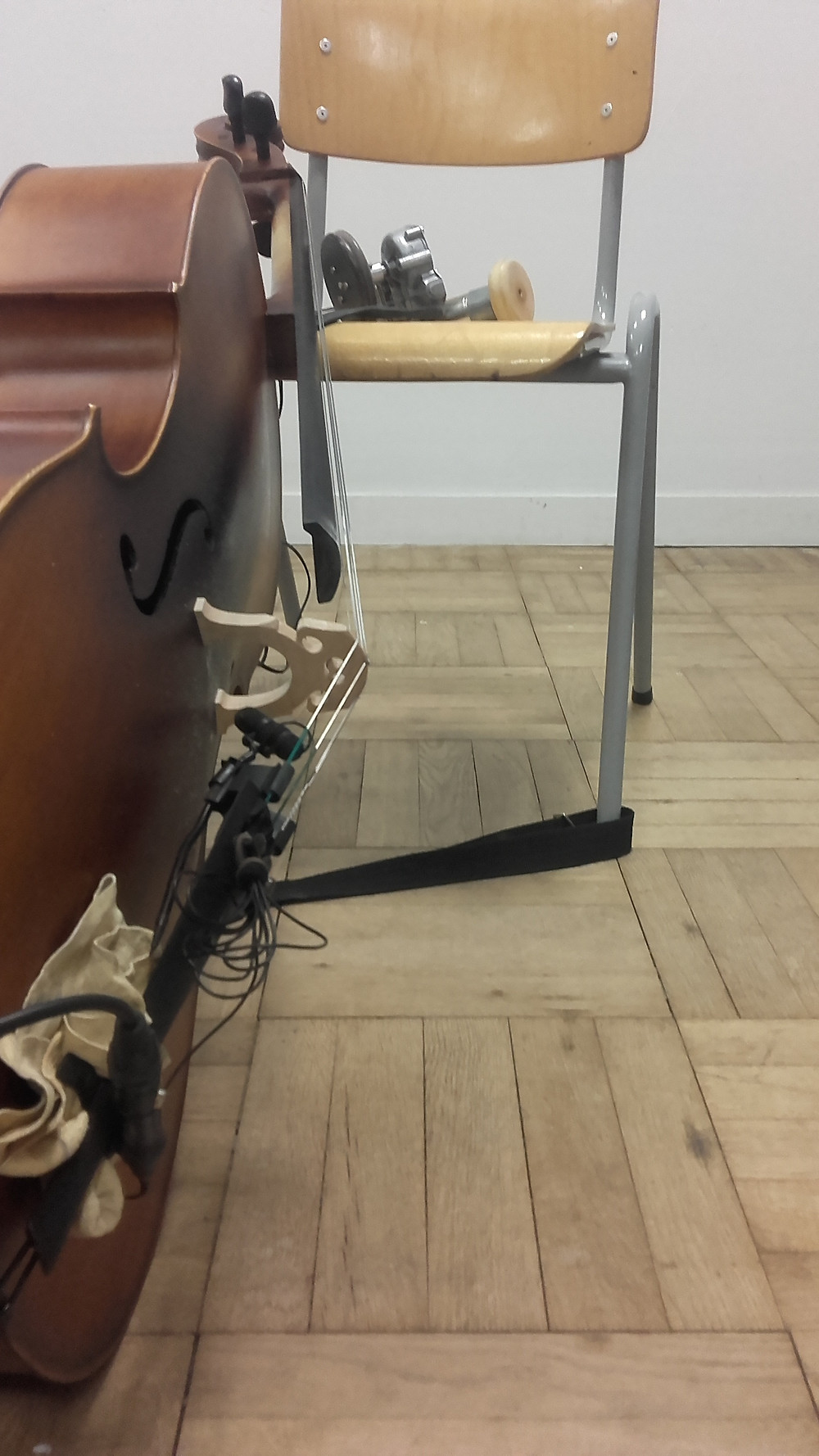 violoncelle et roues electrique (prototype 0 et 1)