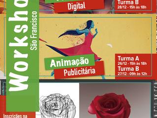 Workshops São Francisco - 26 a 28/12