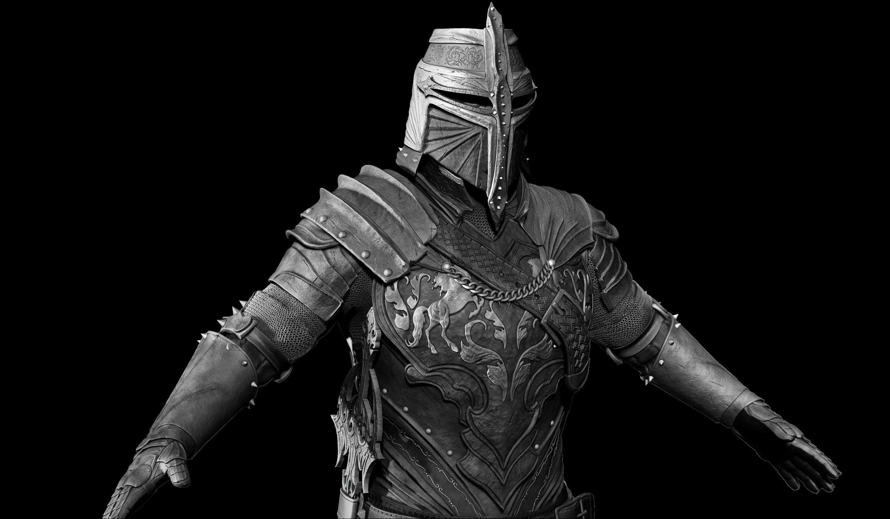 knight-zbrush-3d-model-obj-ztl-mtl