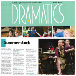 Dramatics Magazine: January 2016