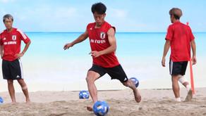 弊社社員 前田陸 ビーチサッカー日本代表候補選出