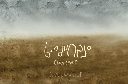 Ghost Dance Cover Illustration Azby W.pn