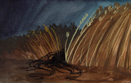 Ghost Dance Wheat Illustration Azby W.jp