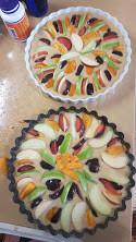 עוגת פירות ושקדים מדהימה