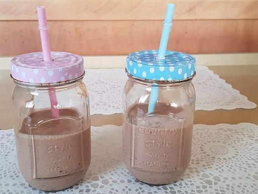 שייק חלבון שוקולד