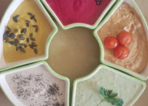 טחינה צבעונית