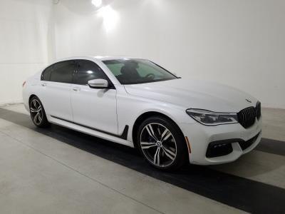 2018 BMW 750I M Sport