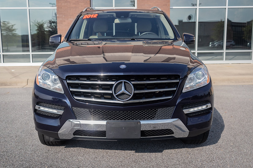 2012, Mercedes, Benz, ML, 350, Luxury, Used, Greenville, NC