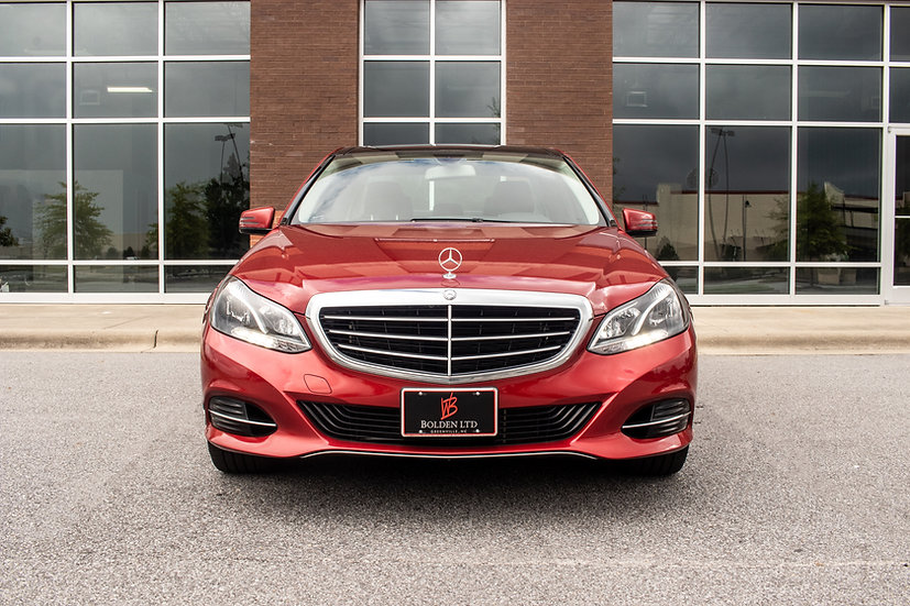 2014, Mercedes-Benz, E 350, 4matic, Used, Greenville, Nc, Luxury, Cardinal Red, Bolden, Limited