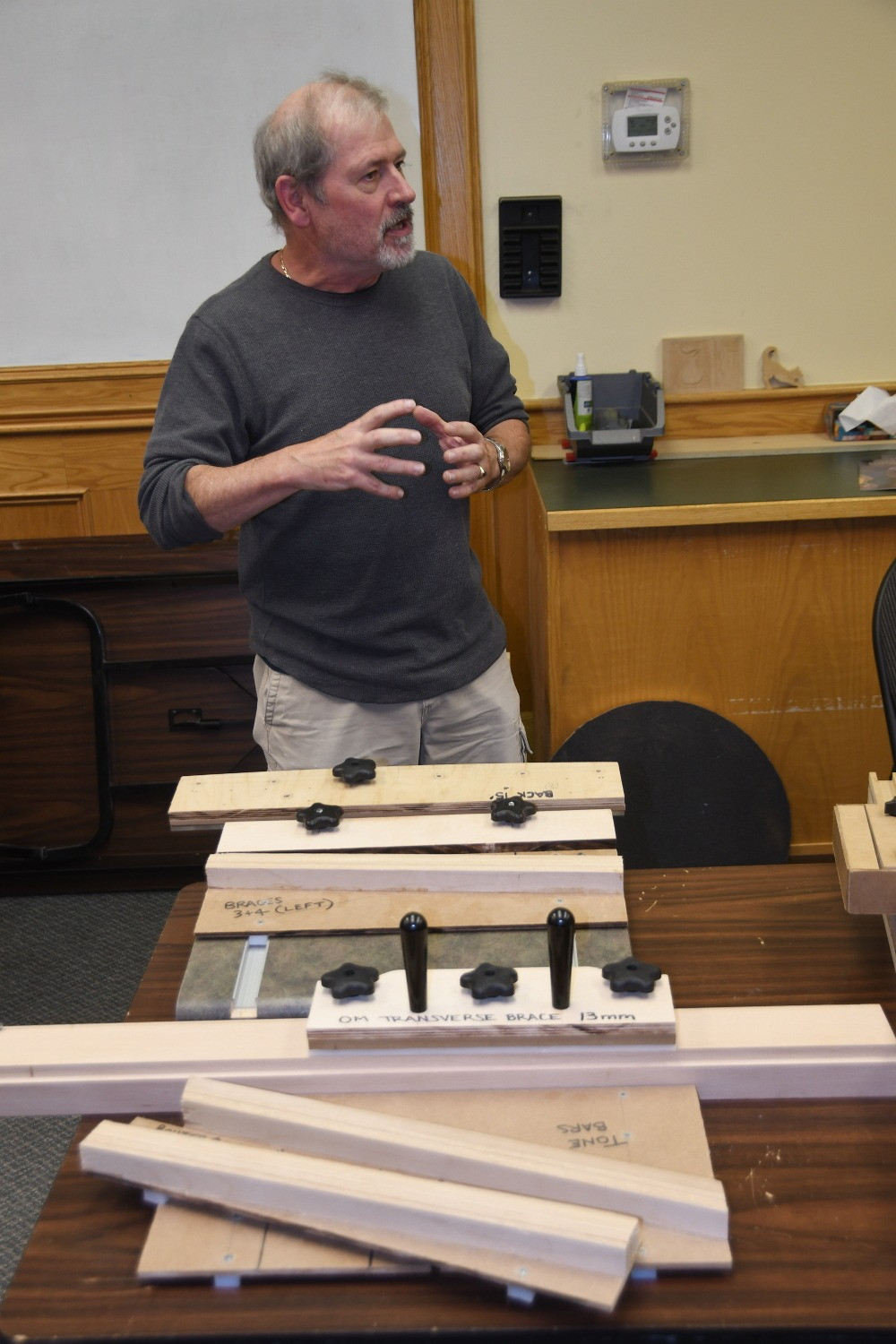 Shop-made Jigs Demonstrated at a Guild Meeting