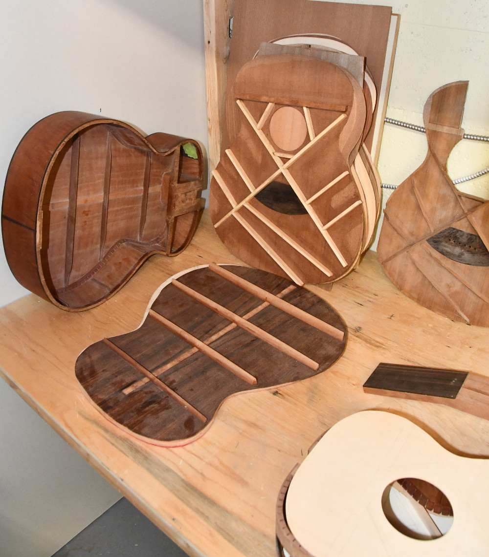Internal Bracing for Acoustic Guitars