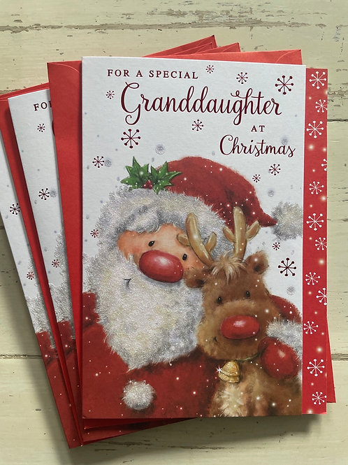 Granddaughter at Christmas