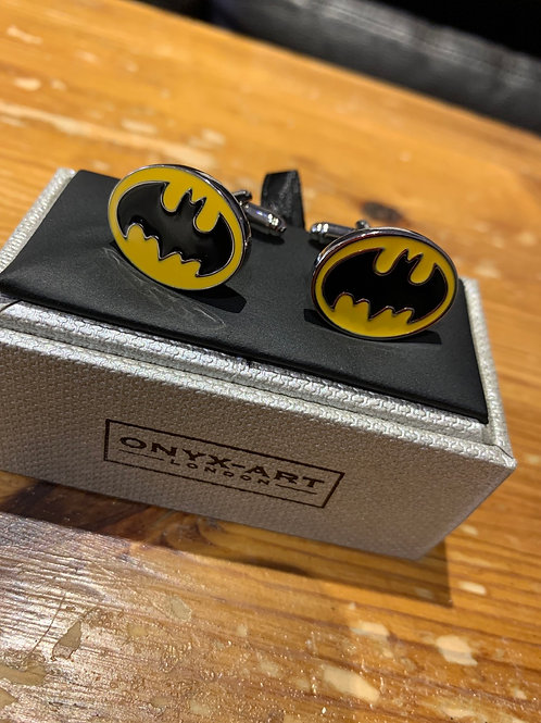 Onyx-Art Cufflinks -Batman