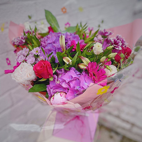 Pink & Purple Aqua Bouquet