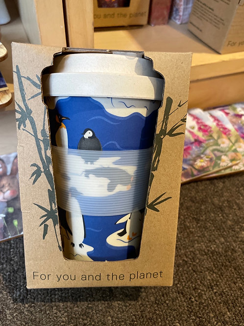 Eco chic bamboo coffee cup