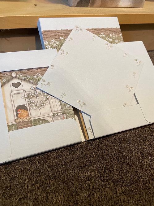 """Wrendale """"Hen house"""" notecard packs"""