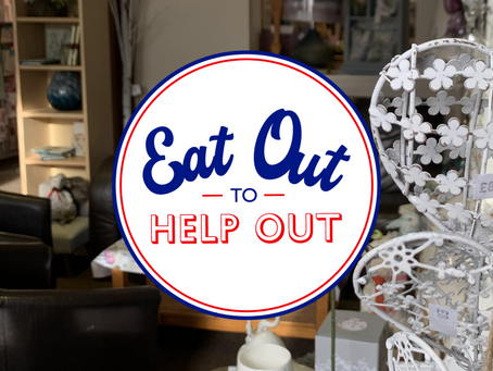 Eat Out, Help Out! - 50% Off Meals In August*