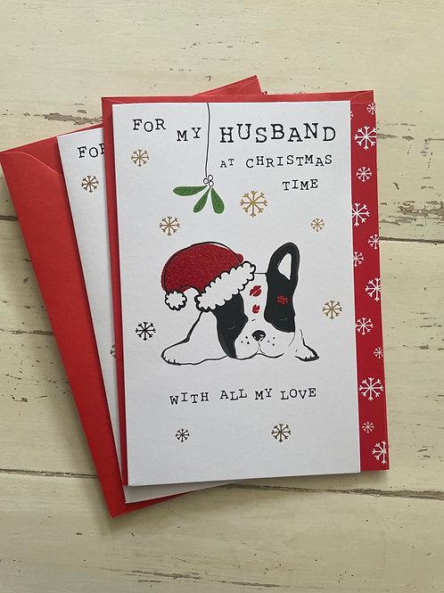 For My Husband at Christmas