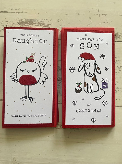 Son / Daughter card  (doodles)