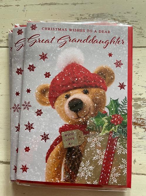 Great - Granddaughter