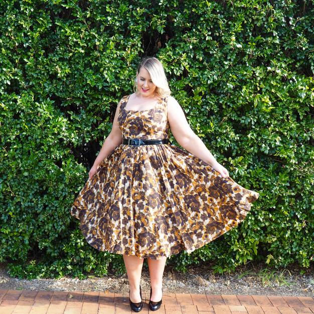 Plus Size Fifties Style Dresses Fashion Design Images