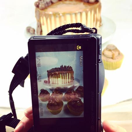 How to take photos of cake