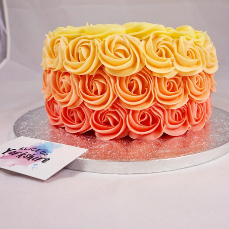 How to make a rosette cake