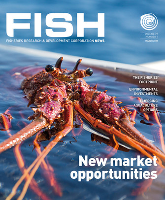 Fish Magazine Client: Fisheries Research & Development Corporation (frdc) Coretext writes, designs and produces FISH magazine, a quarterly journal reporting on the FRDC's support to Australia's commercial, recreational and indigenous fisheries, fisheries conservation and seafood industries. quaterly in both print and digital format (app/website).