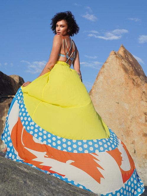 Islander Wave Collection Ultra Glam Maxi Beach Dress