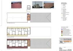 Planta 4, cubierta y techo P4.