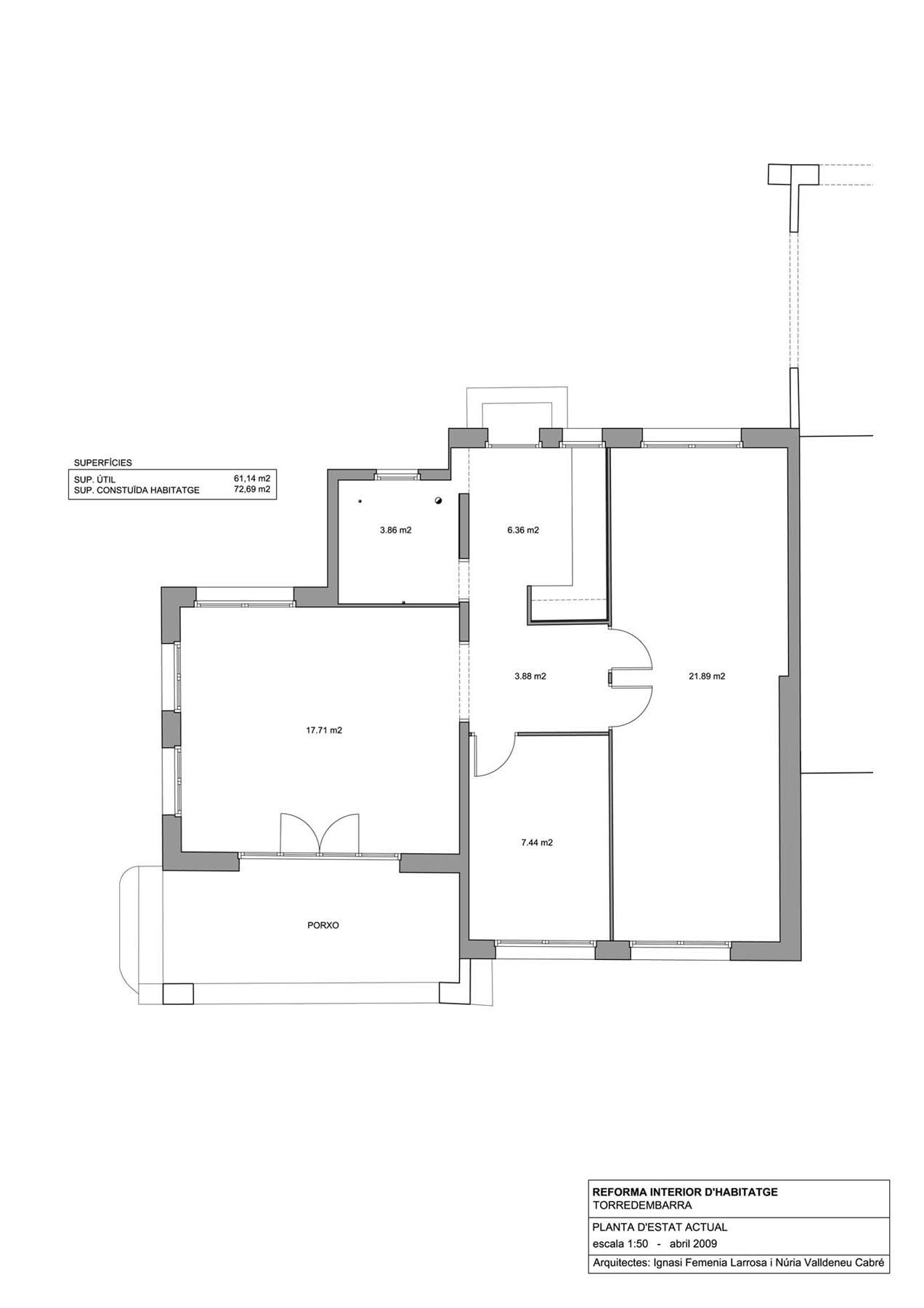 Estat actual de l'habitatge
