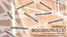 SEMINARI DE BIOCONSTRUCCIÓ A L'ESCOLA D'ARQUITECTURA DE REUS