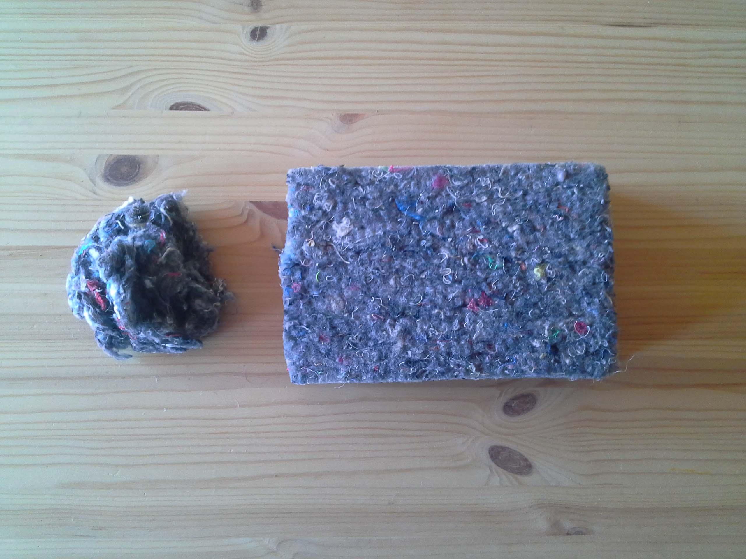 fibres de cotó reciclat