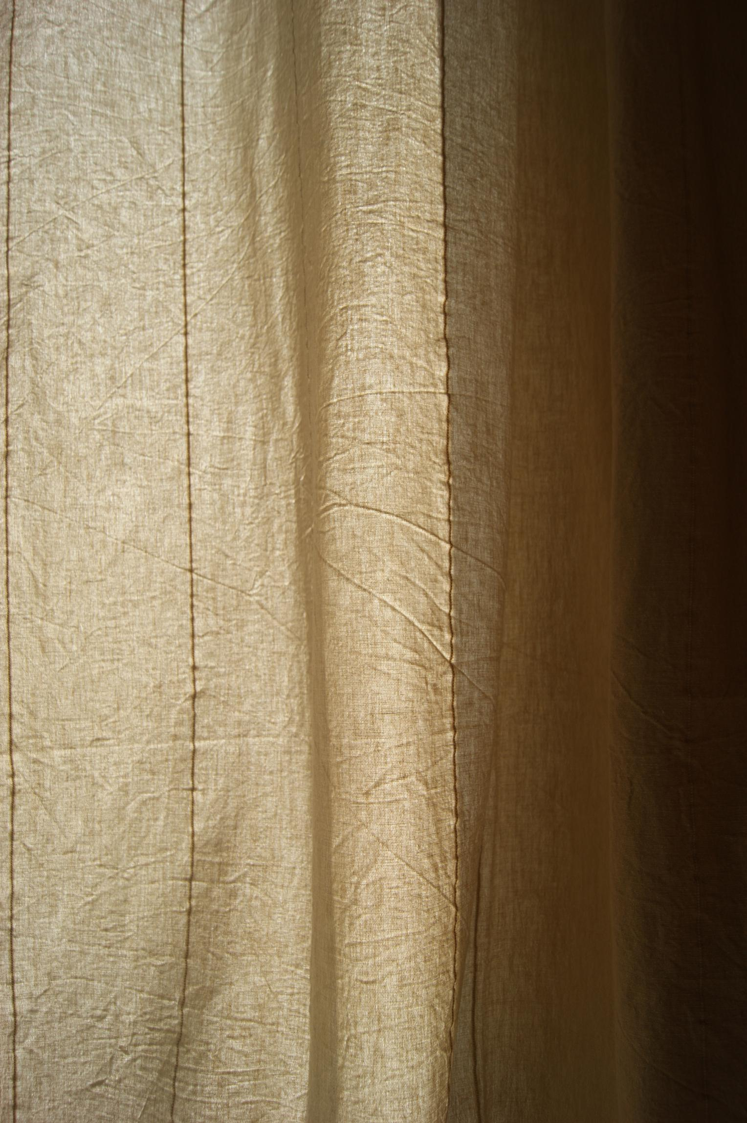 cortina de cotó