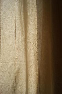 cortina de algodón