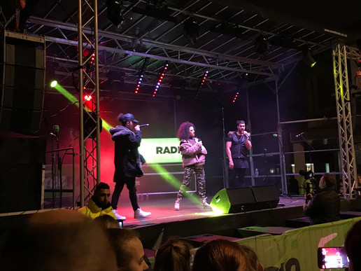 Event Co-ordinator at West Brom Christmas Light Switch On