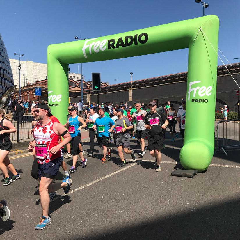 Free Radio's Event Co-ordinator - Great Birmingham Run
