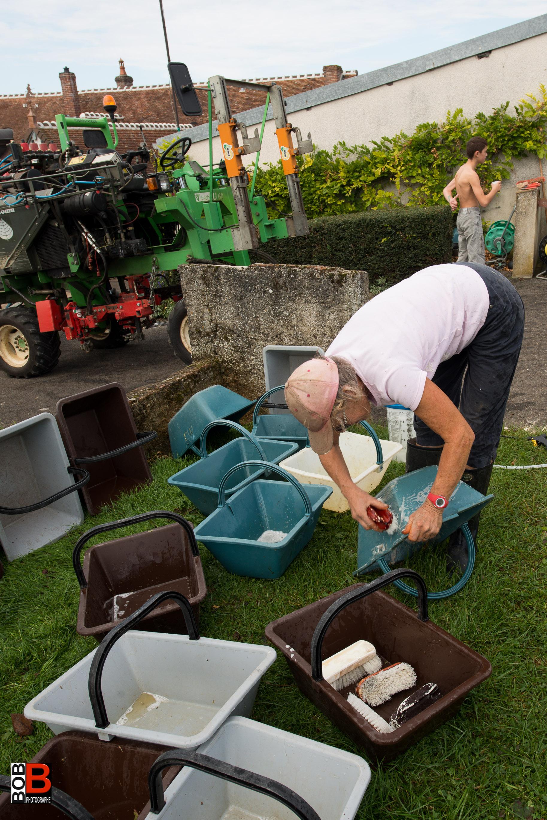 Nettoyage des petits paniers
