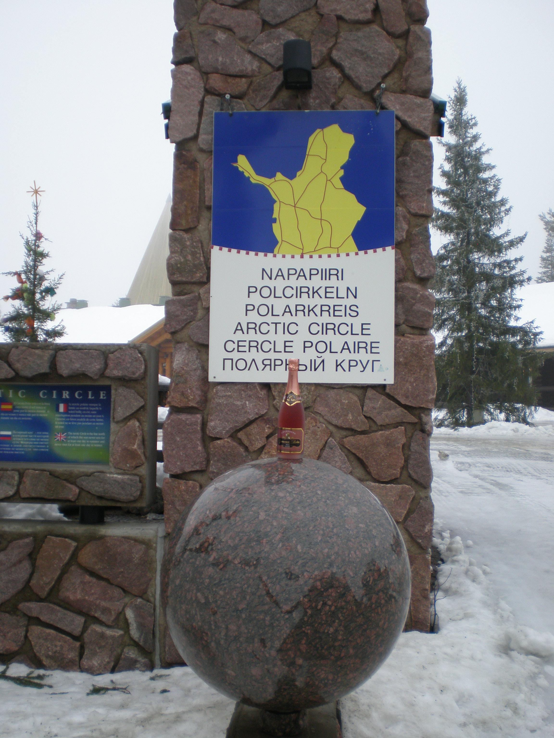 Laponie : cercle polaire Arctique