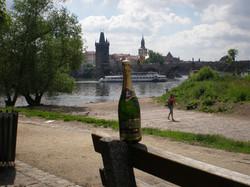 Au bord de la Svlata à Prague