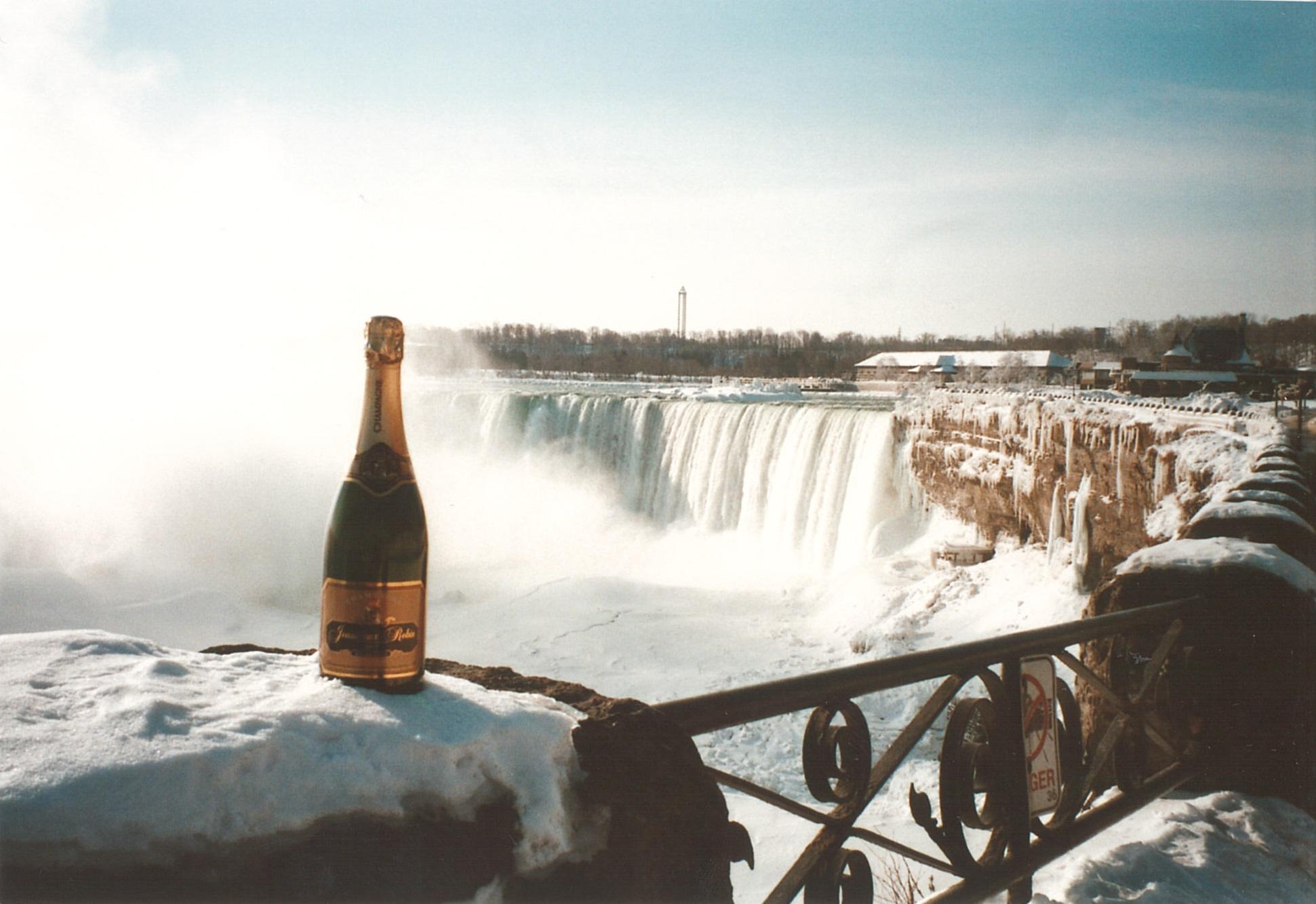 Près des Chutes de Niagara