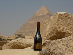Pyramide de Chéphren en Egypte