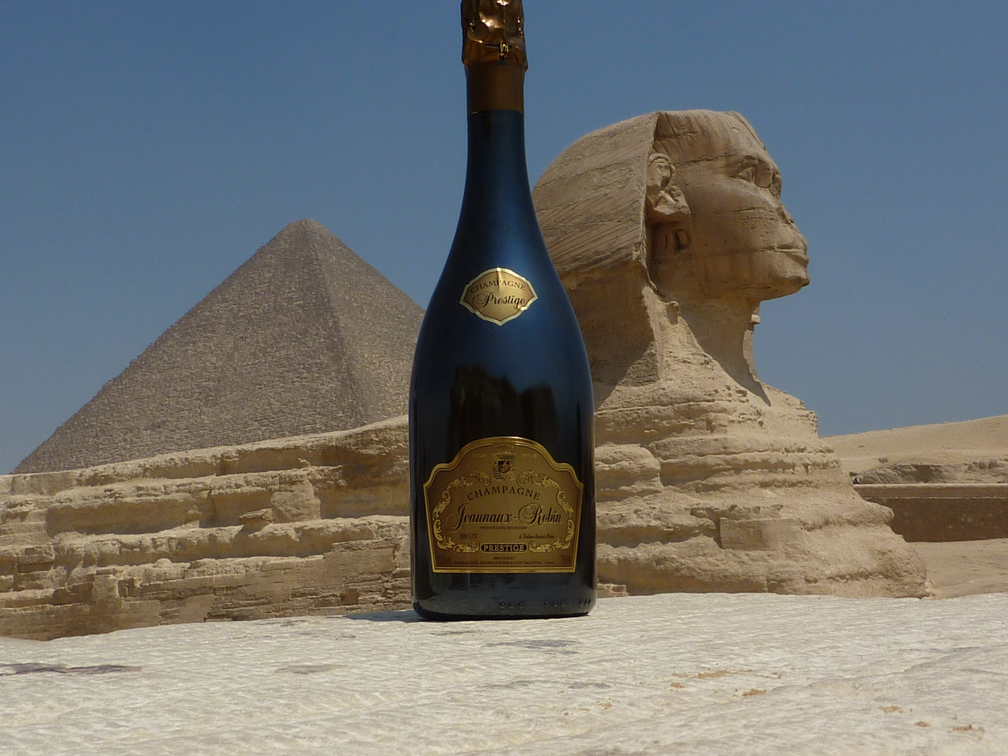 Sphinx et Kéops en Egypte