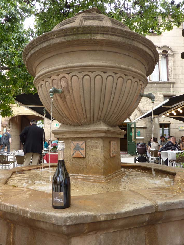 Fontaine à Barcelone