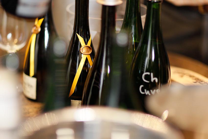 Dégustation de nos vins clairs