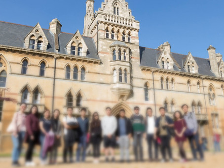 22/9/18 (Sat) Oxford Orientation tour for students