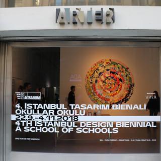 Arter Gallery, Istanbul Design Biennial, 2018.