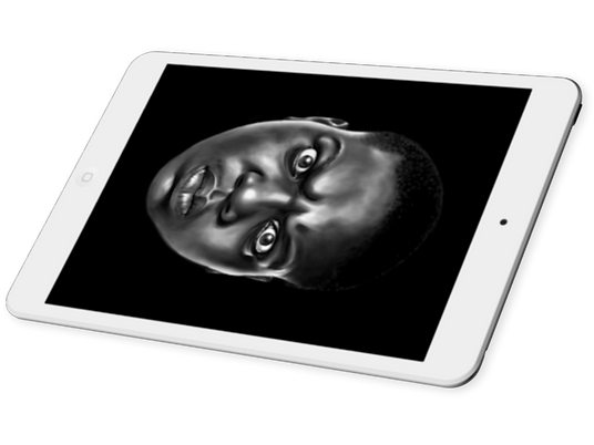 Roland Mestric Celebrity SketchArt digital portraits