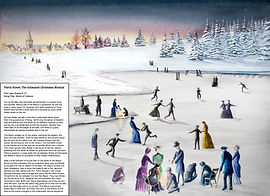 Ice Skating Painting